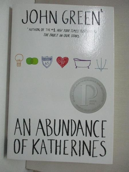【書寶二手書T2/原文小說_BFZ】An Abundance of Katherines_Green, John