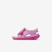Nike Sunray Adjust 5 TD [AJ9077-601] 小童鞋 運動 休閒 涼鞋 拖鞋 雨天 粉紅