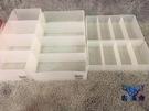 抽屜整理分類收納盒化妝品可移動桌面塑料整理盒【古怪舍】