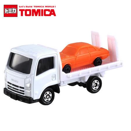 日貨 TOMICA No.60 ISUZU ELF VEHICLE TRANSPORTER 車輛搬運車 (初回特別仕樣) 真車系列 汽車模型 多美小汽車