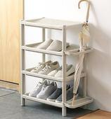 鞋櫃 多層簡易鞋架防塵家用架 宿舍門口塑料組裝鞋架子 客廳浴室拖鞋架 MKS夢藝家