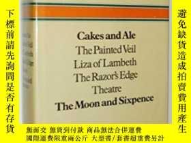 二手書博民逛書店Cakes罕見and Ale,the Painted Veil,
