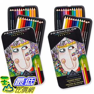 [107美國直購] 彩色鉛筆 Prismacolor Premier Colored Pencils, Soft Core, 24-Count, 2-Pack