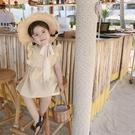 新款3女嬰兒童格子洋氣洋裝女童公主裙子純棉4寶寶一歲夏裝 夏季新品