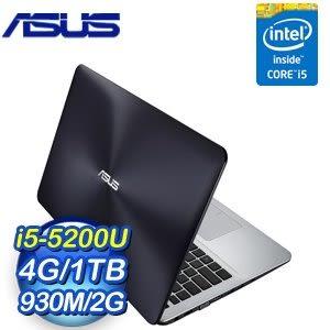 ASUS 華碩 X555LF-0121B5200U i5-5200U 4G 1TB 930 2G獨顯筆記型電腦《灰》