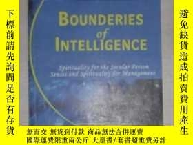 二手書博民逛書店英文原版罕見Bounderies of Intelligence