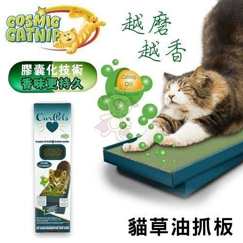 *WANG*【Cosmic Catnip 宇宙貓】貓草油抓板-小 CM-13665貓咪伸展、香味持久