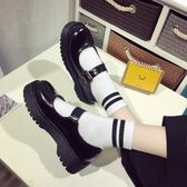 松糕鞋女日系jK制服鞋原宿圓頭小皮鞋厚底軟妹鞋子學院娃娃單鞋女限時大降價!
