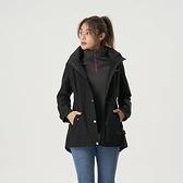 【南紡購物中心】【歐都納】女款GORE-TEX 2L單件式防水外套(黑)