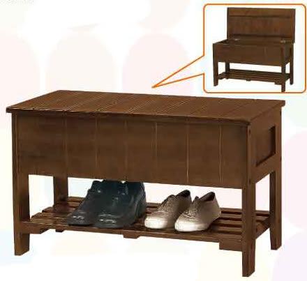 【南洋風休閒傢俱】鞋櫃系列 – 實木鞋架 三尺坐鞋箱 收納換鞋椅 實木玄關鞋櫃 (CY299)