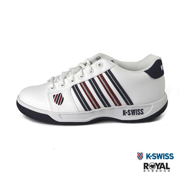 K-swiss Eadall 白色 皮質 運動休閒鞋 男女款 NO.B0951-J0057【新竹皇家 01353-194、91353-194】