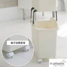 加購配件 輪子 韓國Nplastic【G0023-C】順手分類髒衣籃專用輪(四入一組) 韓國製 收納專科