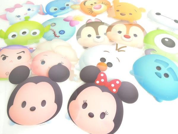迪士尼 疊疊樂 Tsum Tsum 防水貼紙 米奇 米妮 奇奇 蒂蒂 史迪奇 大眼怪 三眼怪 毛怪 雪寶 醜丫頭