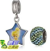 [美國直購] Disney Girls Tinker Bell Enameled Bead Set 手鐲