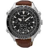 SEIKO 精工錶 Prospex 沉穩時尚 電波修正 太陽能計時碼錶 SSG005P1 熱賣中!