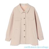「Autumn」CPO軍裝寬版襯衫式夾克外套 - earth music&ecology