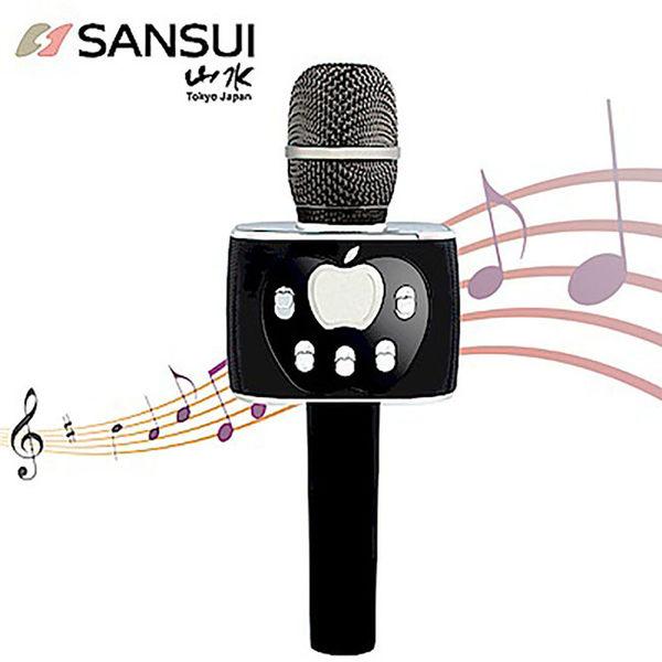 【SANSUI】1對2藍芽K歌神麥(黑) SB-K77