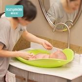 懶媽媽 嬰兒洗澡神器新生兒 可坐躺寶寶沐浴盆小孩嬰幼兒洗澡浴盆