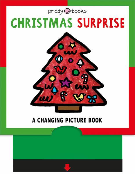 《聖誕節.色彩變化拉拉書》CHRISTMAS SURPRISE /硬頁操作書【麥克書店】