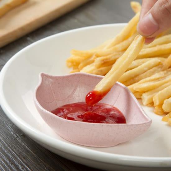 ✭慢思行✭【N353】創意樹葉造型碟 小碟子 小吃 醋碟 醬油碟 點心 菜碟 調味碟 廚房 餐具 水餃