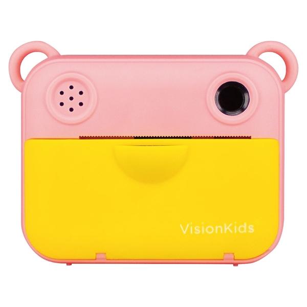 VisionKids 2021高階型 High End MODEL Instant Camu Mini 1200萬象素兒童拍立得相機 粉紅