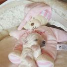 安睡~不發聲~寵物玩具 寵物枕頭貓玩具泰迪比熊貓咪狗狗幼犬抱枕 樂活生活館