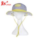 EX2 女快乾格紋圓盤帽 UPF50+『灰』351246 遮陽帽|棒球帽|遮頸帽|抗UV|防曬