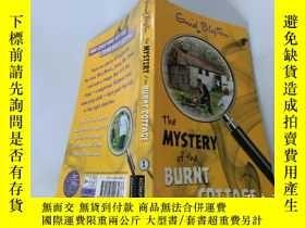 二手書博民逛書店The罕見Mystery of the Burnt Cottage :燒毀的小屋之謎Y200392