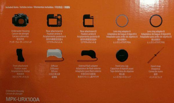 SONY MPK-URX100A 潛水殼  For RX100M5 RX100M4 RX100M3 RX100M2 【台灣索尼公司貨】