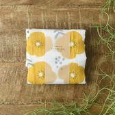 【日本製】 七重紗家事布(黃花) 廚房抹布 蚊帳 棉  擦拭巾 7層紗 紗布