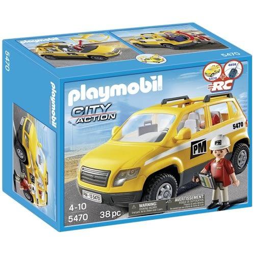 playmobil 建築工程系列 現場監督車_PM05470