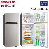 SANLUX台灣三洋 冰箱 533L雙門直流變頻冰箱 SR-C533BV1A