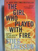 【書寶二手書T8/原文小說_OOR】The Girl Who Played With Fire_Larsson, Sti