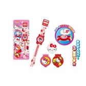 【震撼精品百貨】Hello Kitty 凱蒂貓~凱蒂貓 HELLO KITTY 電子錶(附3款錶蓋/蘋果)#01325