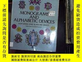 二手書博民逛書店monograms罕見and alphabetic device