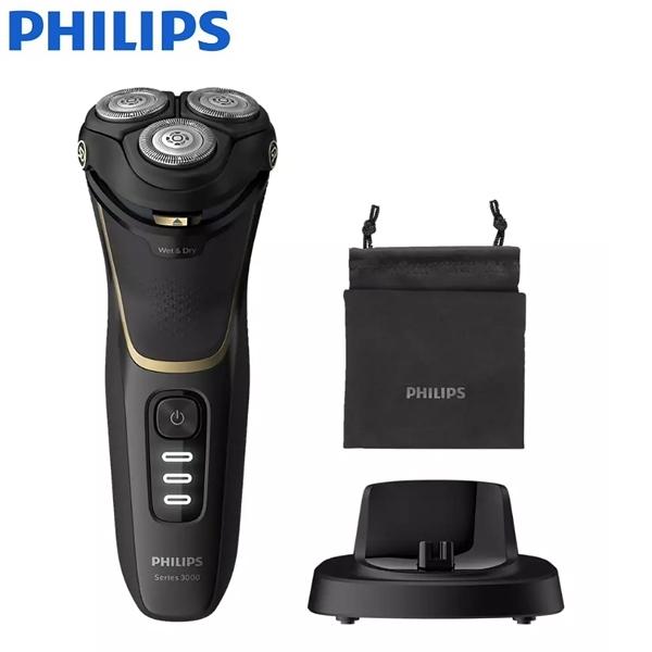Philips飛利浦 三刀頭可水洗電動電鬍刀 S3333/54