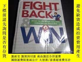 二手書博民逛書店FIGHT罕見BACK &WIN 2001年 16開硬精裝 原版英法德意等外文書 Y274511 READER