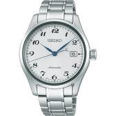 【5年保固卡】SEIKO 精工 Presage 6R15領導者機械錶-銀/40mm 6R15-03N0S(SPB035J1)