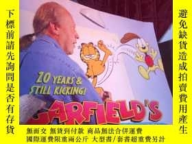二手書博民逛書店Garfield s罕見Twentieth Anniversar