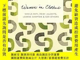 二手書博民逛書店Women罕見in ClothesY171197 Sheila Heti (Author), Heidi J