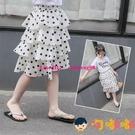 女童半身裙夏裝洋氣雪紡裙子蛋糕裙兒童甜美公主裙【淘嘟嘟】