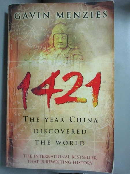 【書寶二手書T7/歷史_CA6】1421: The Year China Discovered the World_MENZIES, GAVIN, 孟席斯