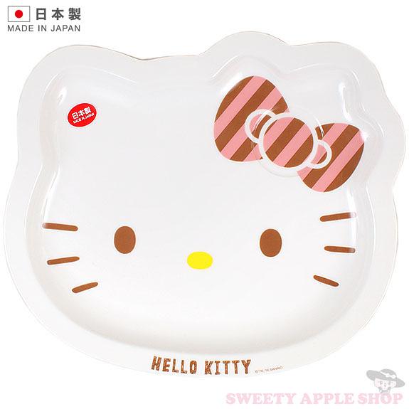 日本製 日本限定 KITTY 大臉陶瓷盤子