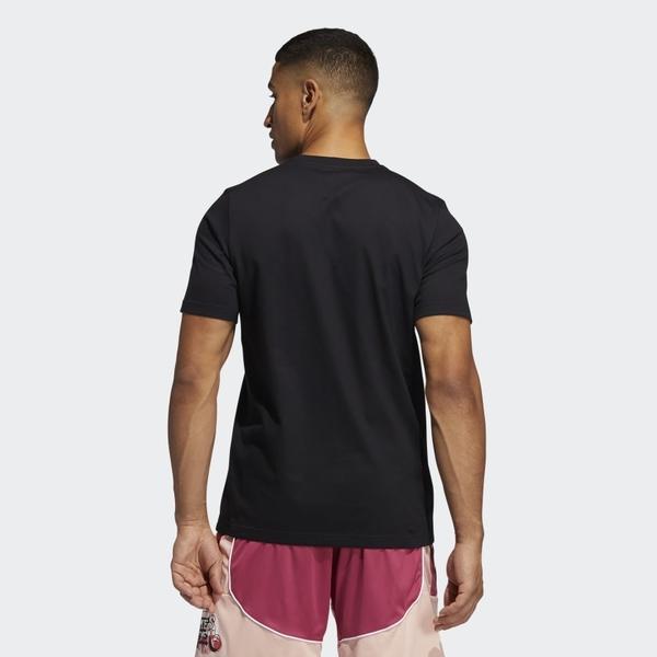 Adidas HARDEN AVATAR SCOOTER TEE 男款黑色短袖上衣-NO.GP3429