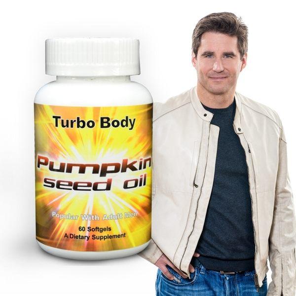 【NOW健而婷】Turbo Body-南瓜籽油 (60顆/瓶)