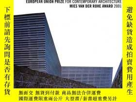 二手書博民逛書店European罕見Union Prize For Contemporary ArchitectureY364
