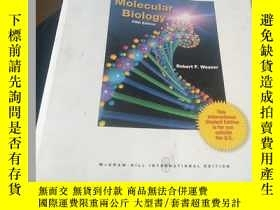二手書博民逛書店Molecular罕見Biology 分子生物學Y5803 Robert Franklin Weaver 著