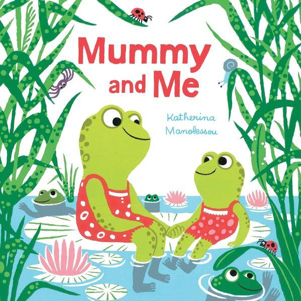 【麥克書店】MUMMY AND ME/硬頁書《主題:母親節》