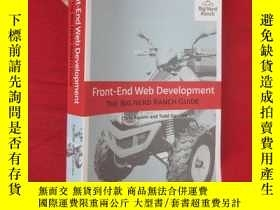 二手書博民逛書店Front-End罕見Web Development: The Big Nerd Ranch Guide (16開