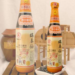 瑞春.瑞春伯黑豆醬油十二瓶入﹍愛食網